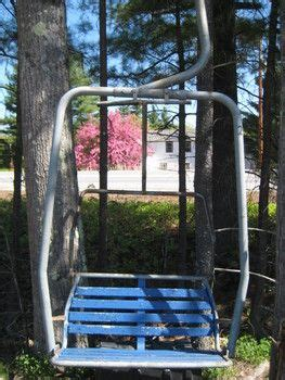 ski chair lift for sale ski lift chair turned swing my cabin in the
