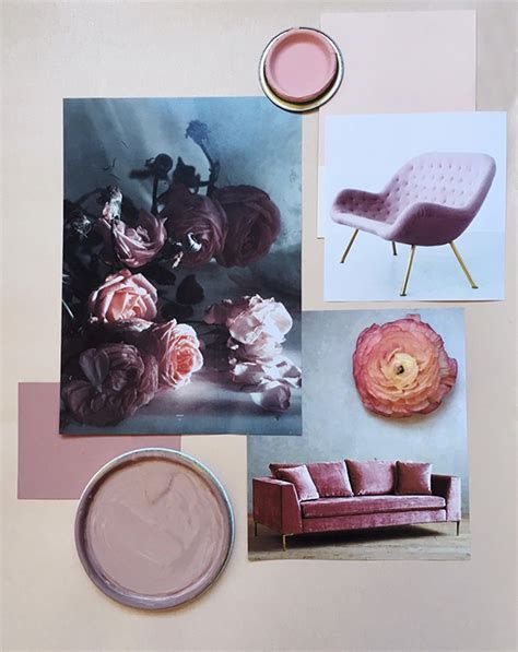 create  color mood board atmine