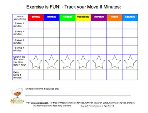 Healthy Habits For Healthy Chart Pics For Gt Exercise Chart