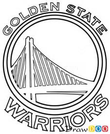 warriors coloring pages how to draw golden state warriors basketball logos how