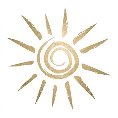 henna tattoo and swimming sun symbol gold temporary swimming and