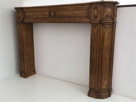 carved fireplace mantels carved architectural fireplace mantel for sale at 1stdibs