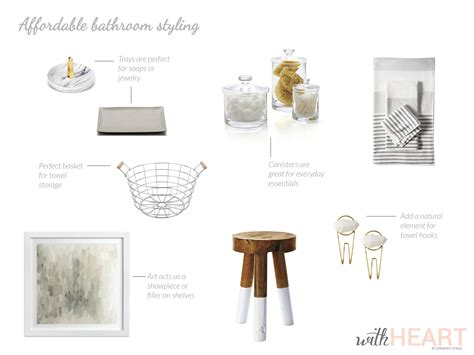 bathroom styling affordable bathroom styling withheart