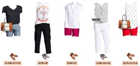 Summer Wardrobe by Target Summer Capsule Wardrobe Mix Match