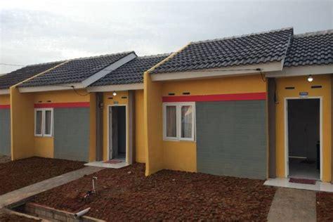 desain rumah flpp seperti ini penakan rumah murah yang diresmikan jokowi