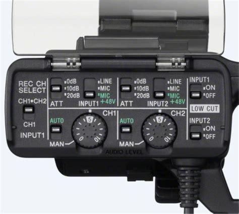 Kamera Sony Xlr sony xlr k1m g 252 nstiger preis toneart shop