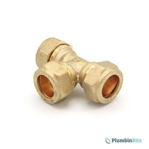 What Is A Compression Fitting For A Copper Pipe by Compression 15mm Brass Equal Connector Fitting