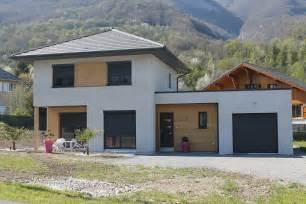 maison 224 ossature bois rt2012 en savoie la bois