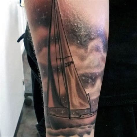 yacht tattoo designs 60 sailboat designs for nautical sophistication