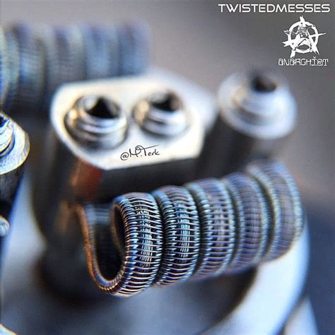 Fused Clapton Tmn80 42 wires in this build staggered frame multi strand fused dual coil 07 ω specs 40 40g