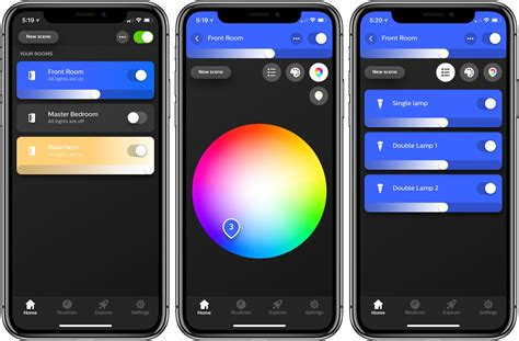 philips hue app update enhances light management and adds