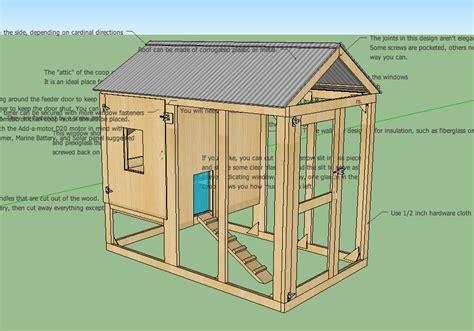 Free Printable Chicken Coop Plans