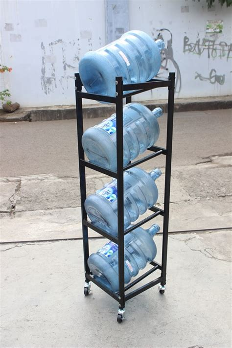 Jual Rak Galon Besi jual rak galon air mineral aqua tipe 1