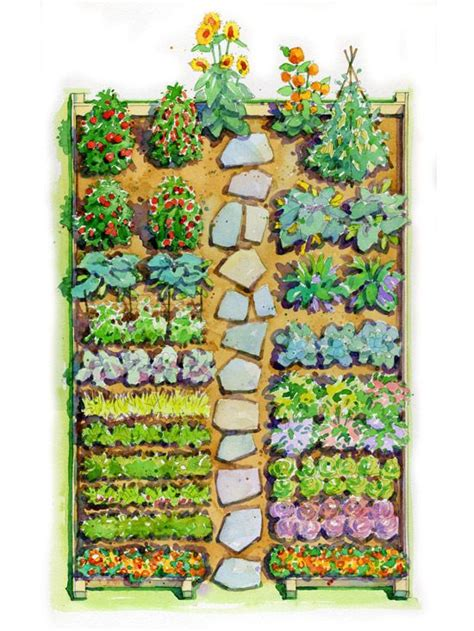 vegetable garden plans zone 7 17 best ideas about vegetable garden layouts on