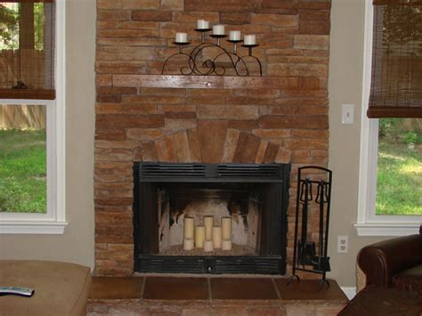 fireplace designs with stone 25 fascinating stacked stone fireplace designs slodive