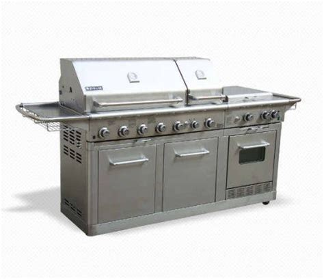 jenn air deluxe outdoor gas kitchen grill oven stainless steel g445 hugh shop your way online