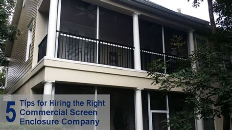altamonte awnings five tips for hiring the right commercial screen enclosure