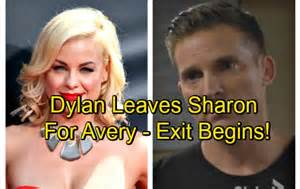 the young and the restless casting spoilers avery reportedly the young and the restless spoilers dylan leaves sharon