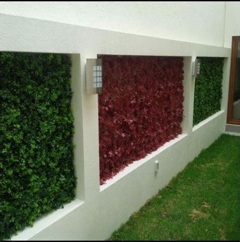 Vertical Garden Wall Outdoor Art Artificial Hedge Vertical Garden Wall Panels