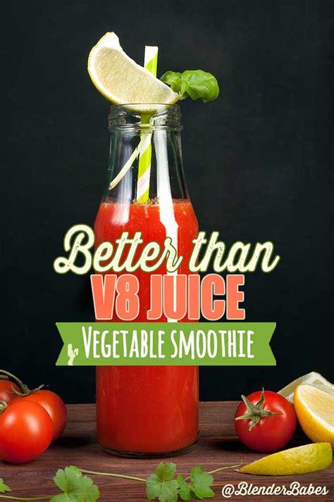 V8 Juice Detox by Better Than V8 Juice Vegetable Smoothie Blender