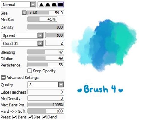 16 best images about brush settings on