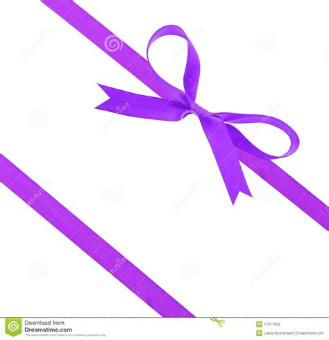 purple christmas ribbon stock photography image 17311502