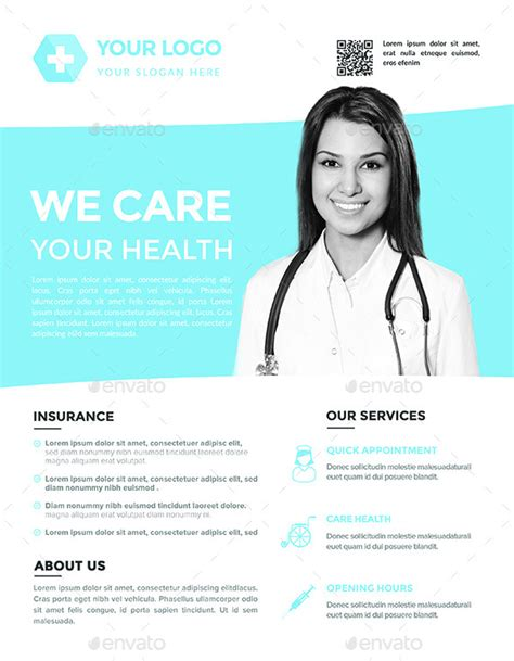 health flyer templates free flyers templates 3 by hazemtawfik graphicriver