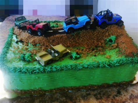 happy birthday jeep cake 17 best images about jeep cake ideas on pinterest