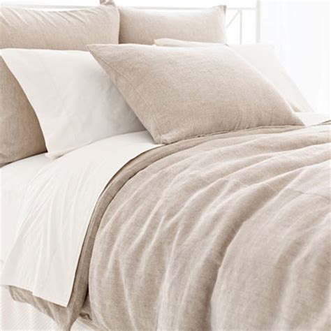natural linen comforter linen chenille natural duvet cover contemporary