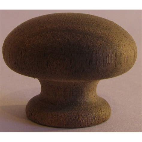 Walnut Knob by Knob Style R 30mm Walnut Sanded Wooden Knob