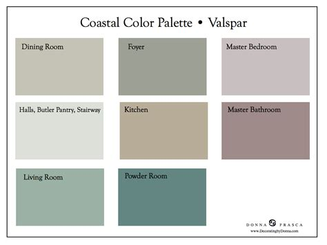 valspar colors a coastal retreat is just a click away decorating by