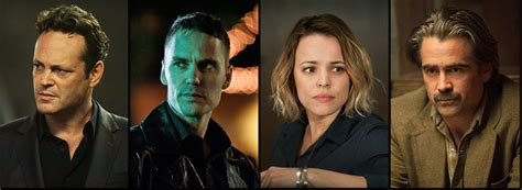 true detective stars rachel mcadams and taylor kitsch are tv review true detective season two