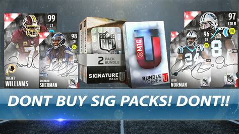 dont freaking buy these signature packs waste of