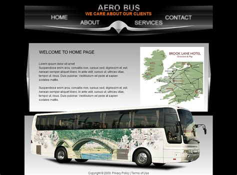 transportation templates transportation template free website template
