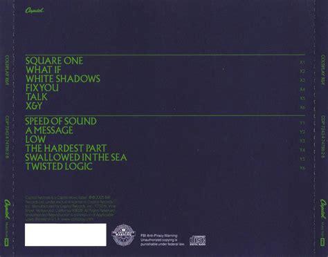 coldplay x and y songs coldplay x y 2005 d 243 r 233 mi f 225