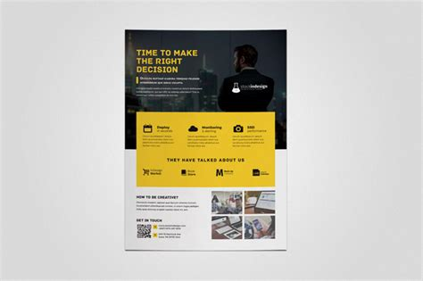 Indesign Template Of The Month Corporate Flyer Indesignsecrets Com Indesignsecrets Adobe Indesign Poster Template