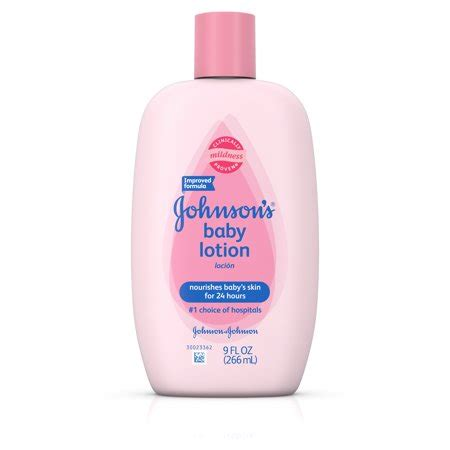 Johnson Care Skin Lotion johnson s baby skin care lotion 9 fl oz walmart