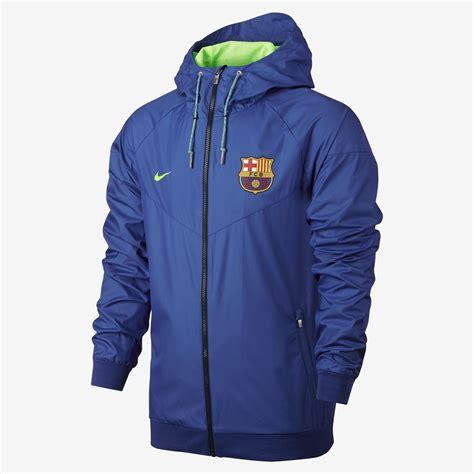 Baju Nike Fc Original nike fc barcelona authentic windrunner royal ghost green ghost green equipment