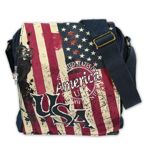 robin ruth shoulder bag flap bag new york canvas blue