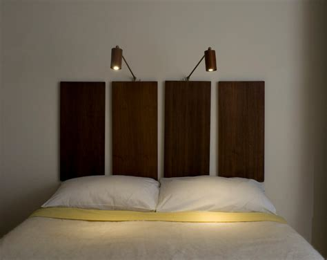bed reading light headboard mahogany led bedside reading light