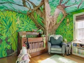 Superbe Decoration Chambre Bebe Theme Jungle #1: african-jungle-savannah--themes-in-kidsroom-murals6.jpg