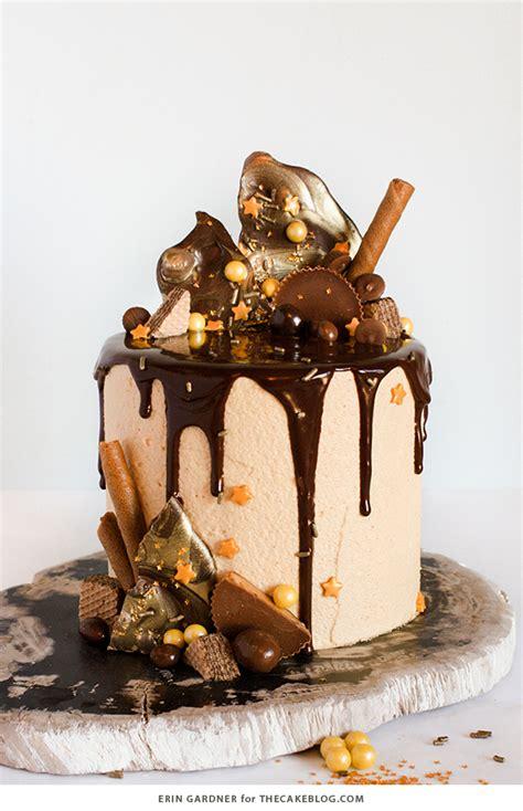 drippy chocolate cake  cake blog