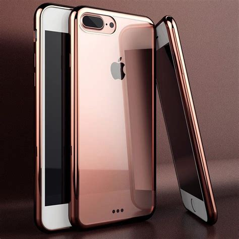 Cristal Cilicone Iphone X Casing Silicone Iphone X Premium for apple iphone 7 silicone clear cover bumper rubber protective shockproof ebay