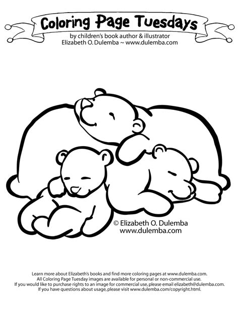 sleeping bear coloring pages to print dulemba coloring page tuesday sleeping bears