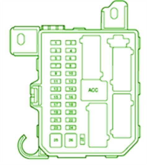 ford fuse box diagram fuse box ford  escape diagram