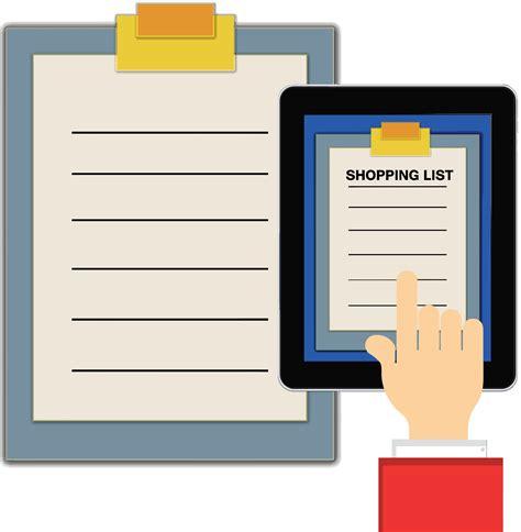 list clipart checklist clip list cliparts