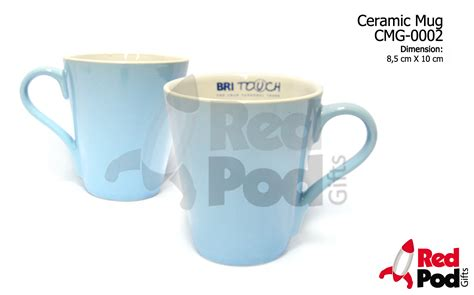 Mug Keramik Promosi 13 product v shaped mug