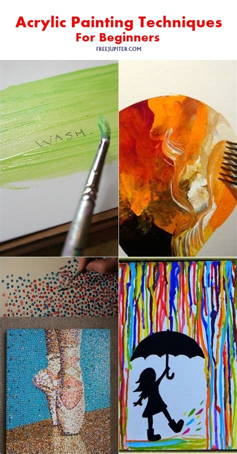 acrylic painting techniques for beginners 28 free acrylic painting techniques painting 12