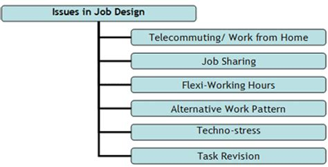 design management issues issues in job design