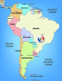 paraguay map south america paraguay map blank political paraguay map with cities